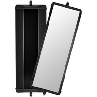 "Britax Mirror 18"" Head Black Steel Flat Glass 1421100 West Coast Truck Caravan Ute"