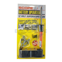 Scope 12V Car Battery Operated Soldering Iron